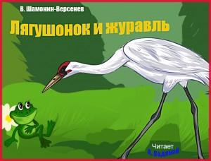 В. Шамонин-Версенев. Лягушонок и журавль - чит. А. Водяной