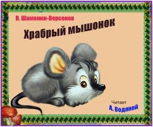 В. Шамонин-Версенев. Храбрый мышонок - чит. А. Водяной.