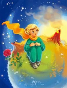 А. Экзюпери. Маленький принц - (без муз) - чит. Дима Левицкий и А. Водяной