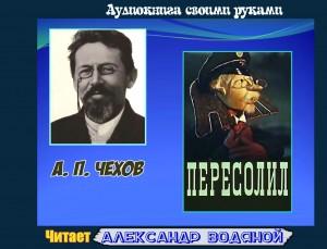 А. П. Чехов. Пересолил (без муз) - чит. Александр Водяной