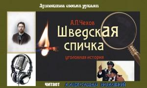 А. П. Чехов. Шведская спичка (без муз) - чит. Александр Водяной