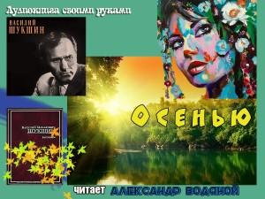 В. Шукшин. Осенью (без муз) - чит. Александр Водяной